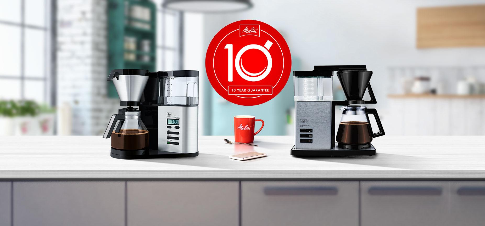Bereiding van handgezette koffie