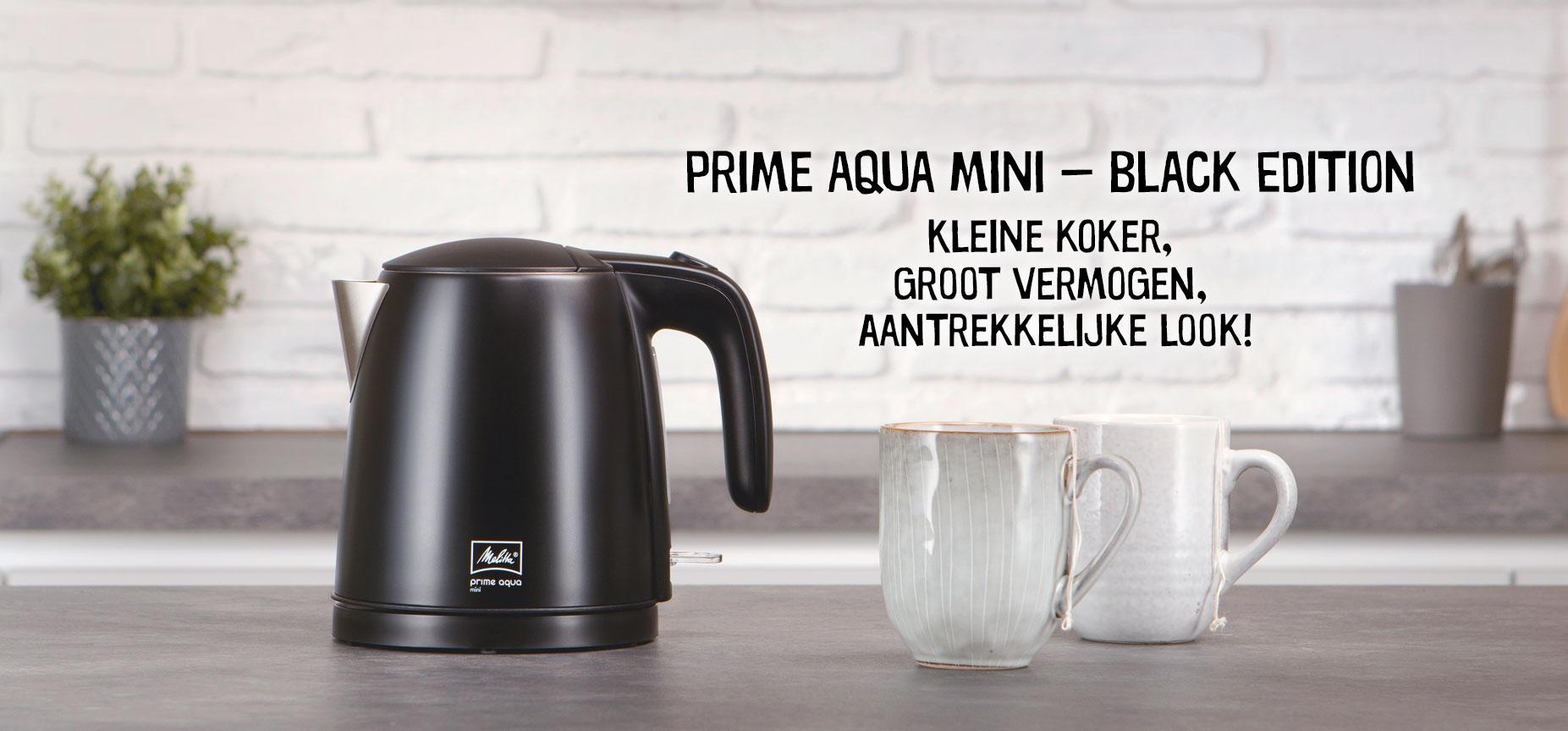 Prime Aqua mini - Black Edition