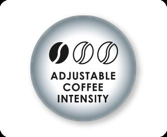 Instelbare koffiesterkte