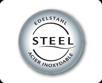 Elegante elementen in roestvrij staal