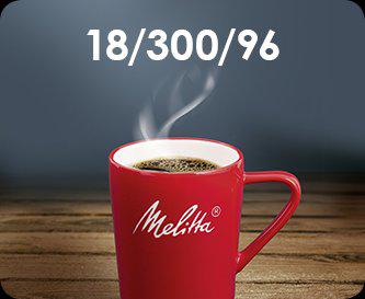 Formule voor optimaal koffiegenot: 18 / 300 / 96