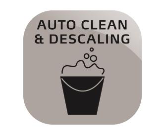 Automatische reiniging en ontkalking